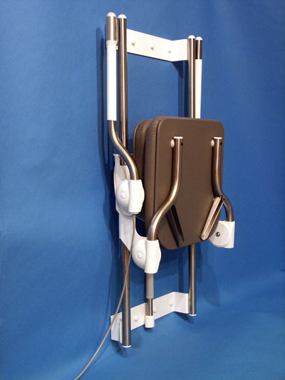 Showerlift fold-away